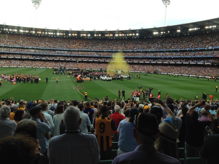 Richmond's Premiership Cup ROARS into Bunjil Place!