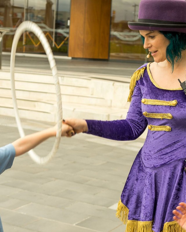 Hula Hooping Fitness For Kids