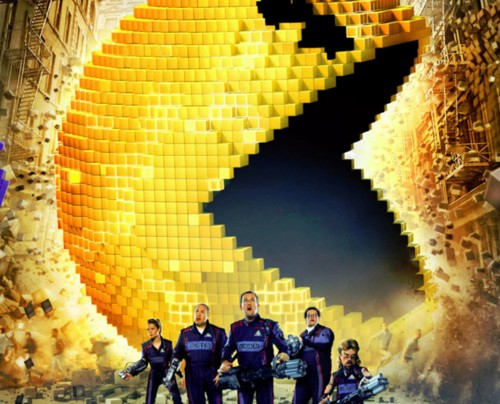 Pixel Party Flick: Pixels (PG)