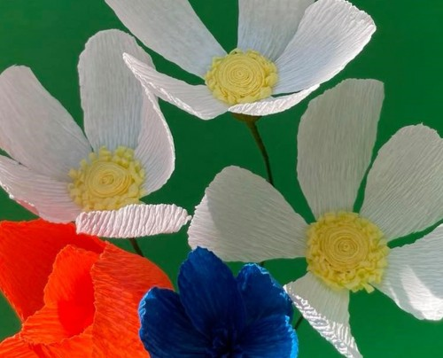 Wednesday Night Workshop: Paper Daisy & friends with Louise Seymour